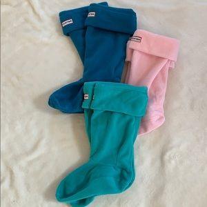 Hunter 3 boot insert socks, medium (5-7), youth